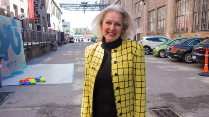 satellite entrepreneur Candace Johnson