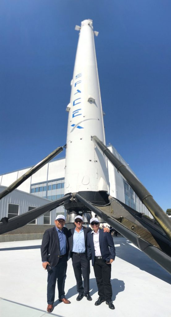 Philippines VIPs Mark Milestones in the Construction of Kacific Satellite at Boeing Factory