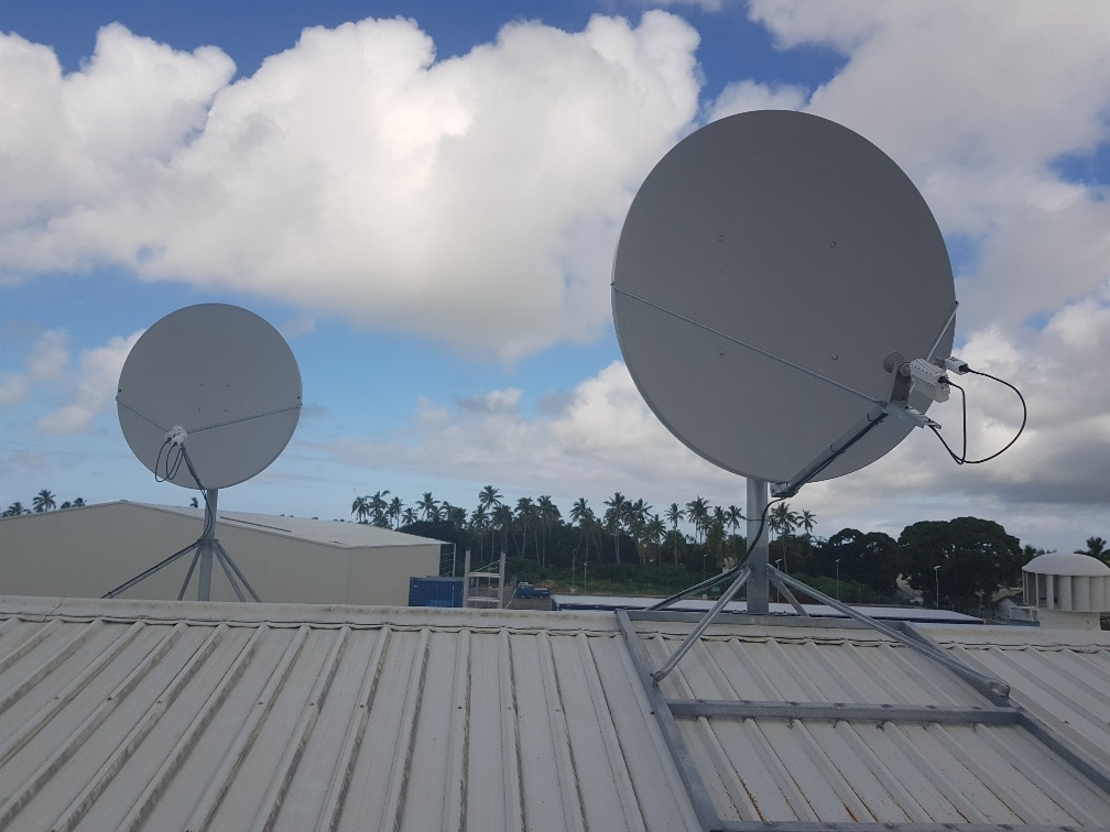 Tongan Fibre-Optic Cable Outage Relieved by Satellite - Kacific