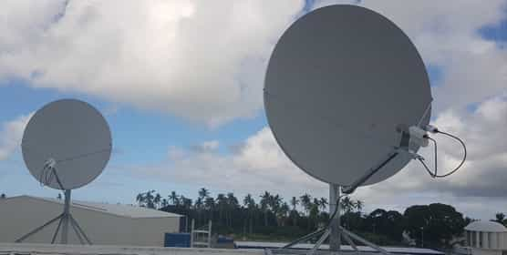 Tongan Fibre-Optic Cable Outage Relieved by Satellite