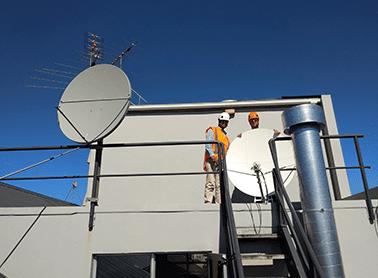 dedicated satellite bandwidth