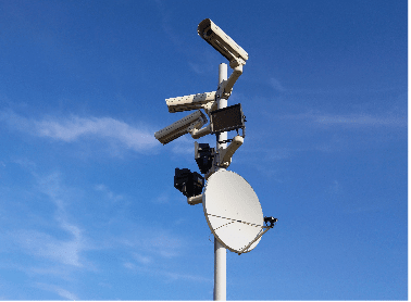 Kacific CCTV and Remote Data