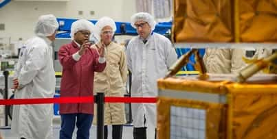 Boeing began the Kacific1 HTS payload integration and test phase