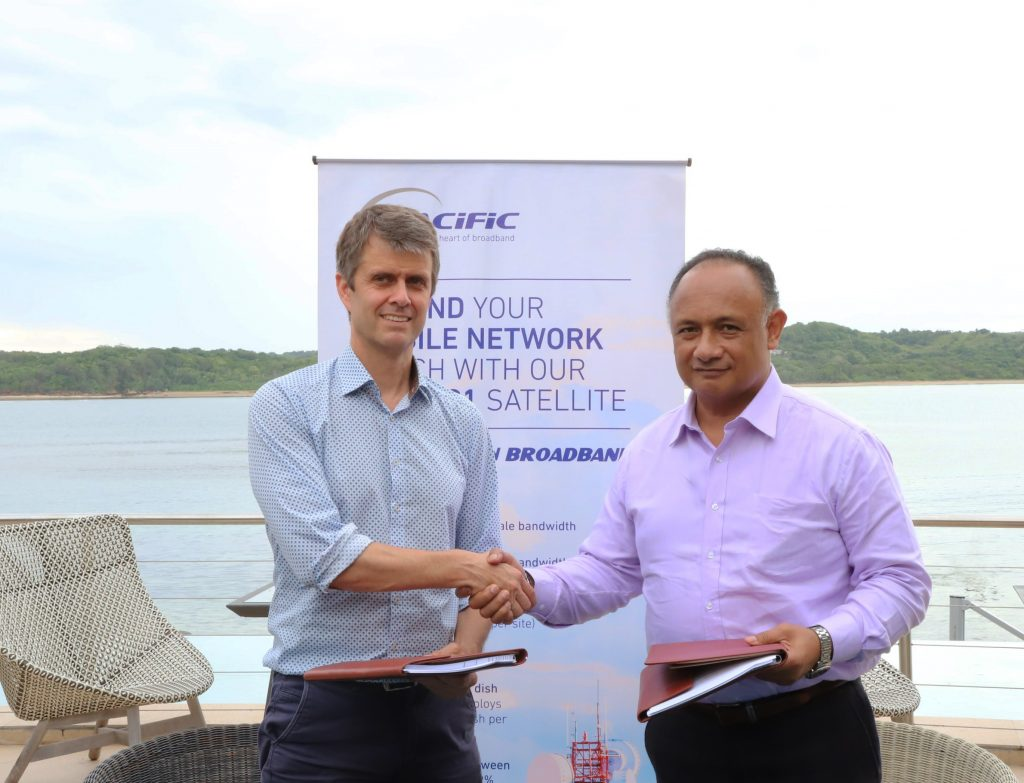 Tongan Government Signs Deal With Kacific for Remote Island Connectivity and Fibre back-up