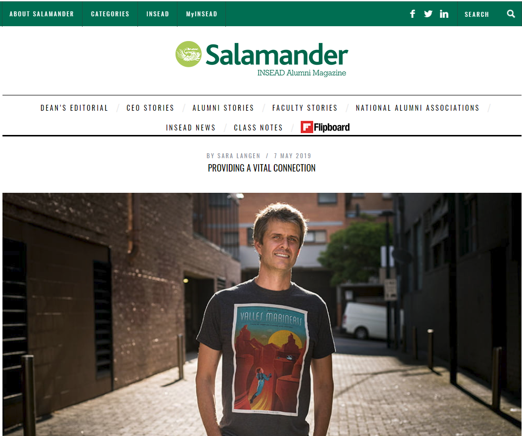 Christian Shares Personal Journey With Salamander Magazine
