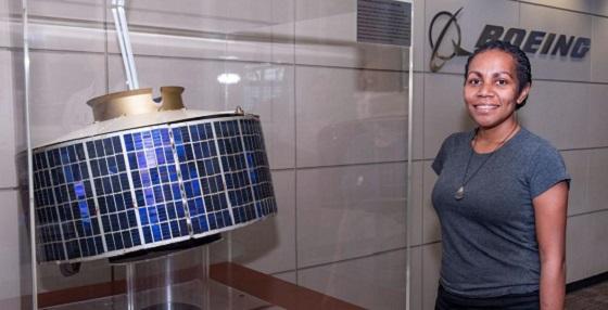 Mariah Nasak visits Boeing and SpaceX