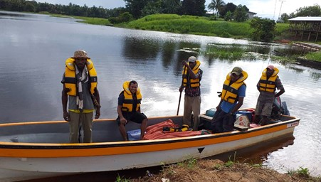 The installation team departing Ali_Photo credit_SDP_Papua Nwe Guinea_Kacific satellite internet